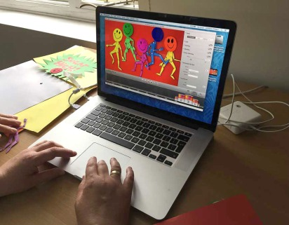 Scheduled Animation workshop for Time to Change Champions inAugust